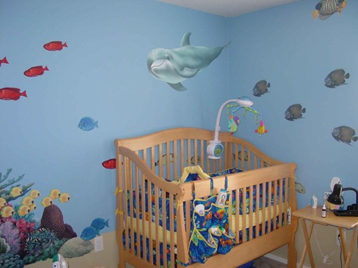 Dolphin2-Wall-Sticke Dolphin2 Wall Sticker