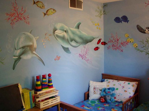 Giant-Shark-Sticker Giant Shark Wall Sticker