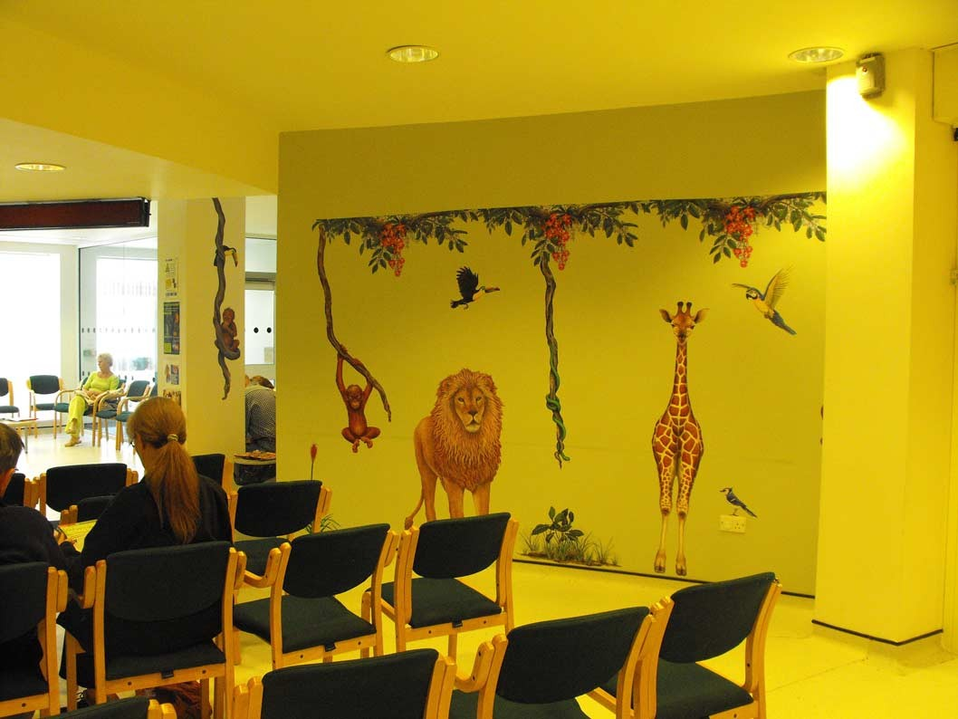 Giant-Lion Lion wall sticker