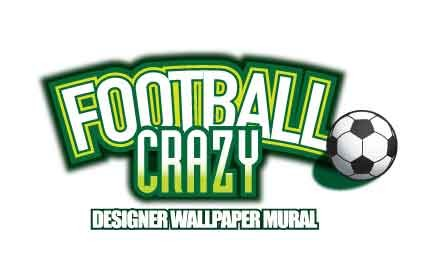 W-FootballCrazy Football Stadium Wallpaper Mural