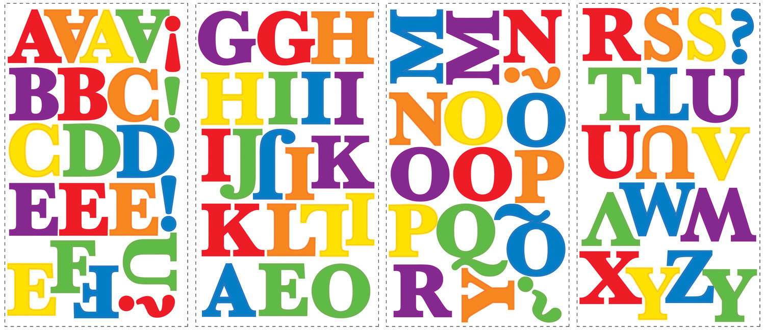Childrens Alphabet stikers