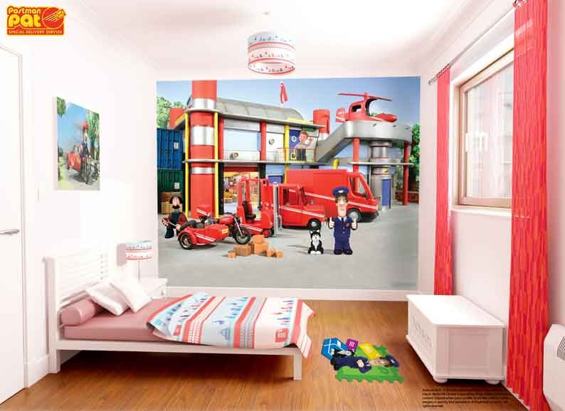 Postman pat wallpaper mural