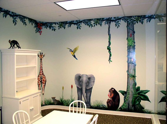 Jungle-Baboon Jungle Animals - Baboon Wall sticker