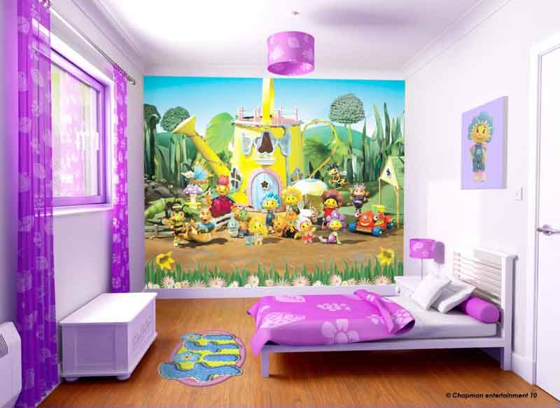W-FiFi Fifi Childrens bedroom wallaper mural