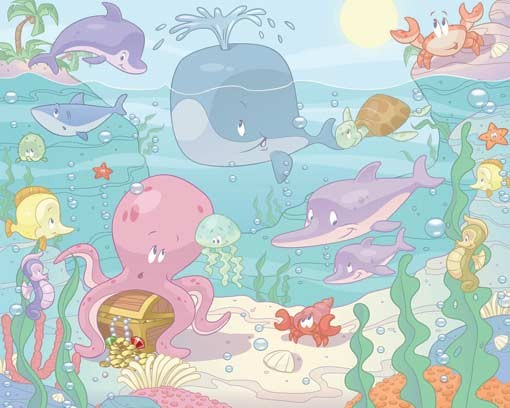 W-Baby-Seacreatures Baby Sea Creatures