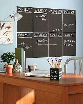 CB-16004 Chalkboard Sticker Panels - Peel & Stick (2)