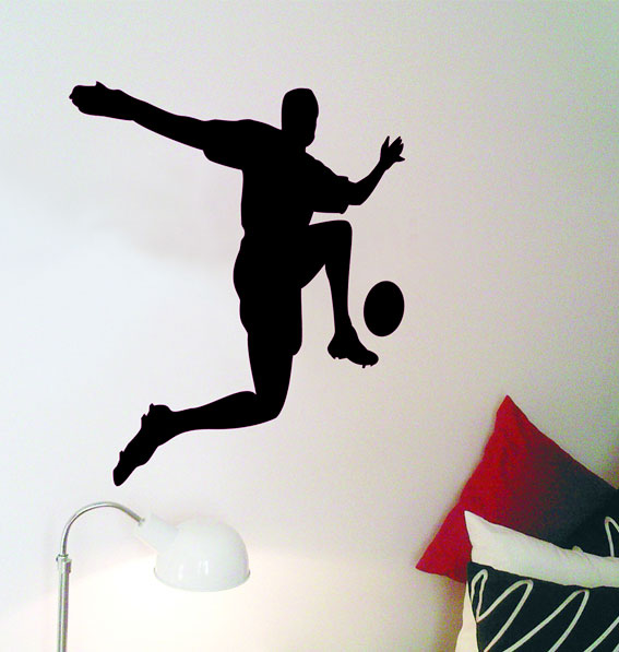 SIL-FP1 Silhouette Football Player 1