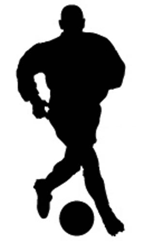 SIL-FP2 Silhouette Football Player 2
