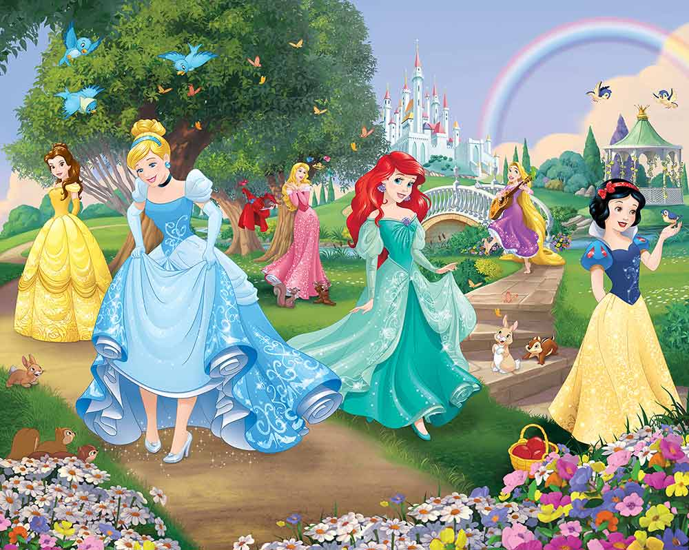 Fairy Princess Wallpaper Childrens Wallpaper Fun Decor
