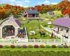 Walltastic Horse & Pony Wallpaper mural