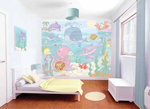 Walltastic Baby Ocean wallpaper mural