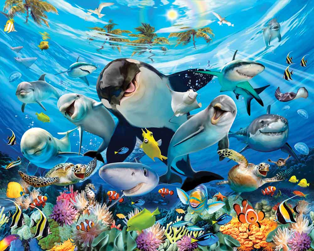 W-Sea_AD Sea Adventure Wall Murals