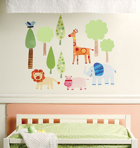Baby Zoo Stickers