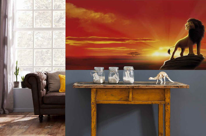 This Brilliant Lion King wallpaper mural is Ideal for childrens bedroom  walls Perhaps at the side. Lion King Wallpaper For Bedroom