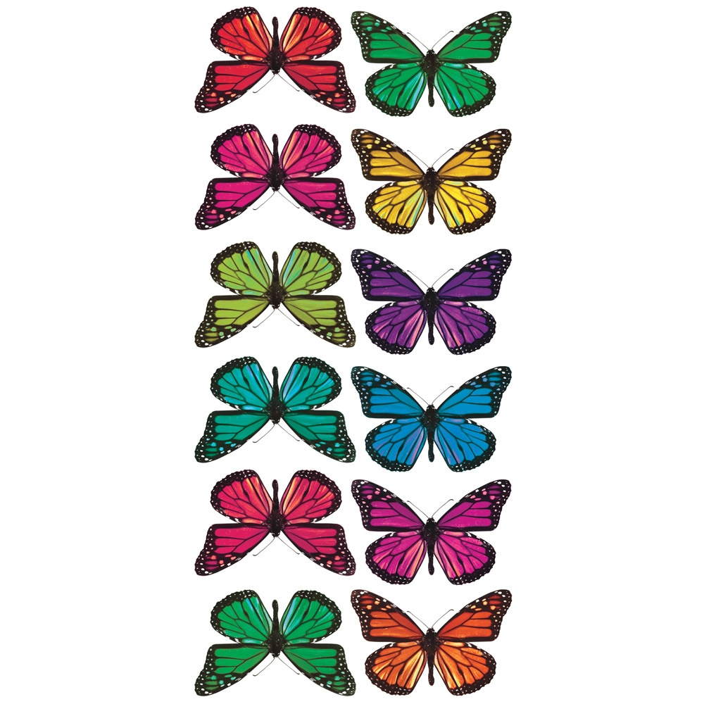 ACC0003B3D  3D Butterfly Wall Stickers