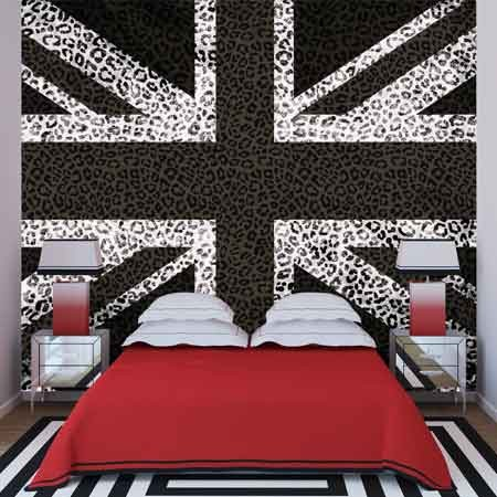 Black U0026 White Union Jack Wallpaper Part 42
