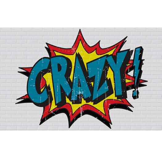 DT-Crazy Crazy Wallpaper Mural