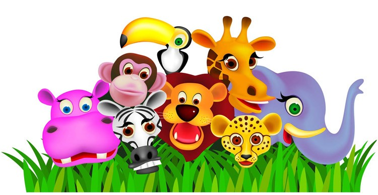 FD-SAF-Play Safari Playtime Wall Sticker