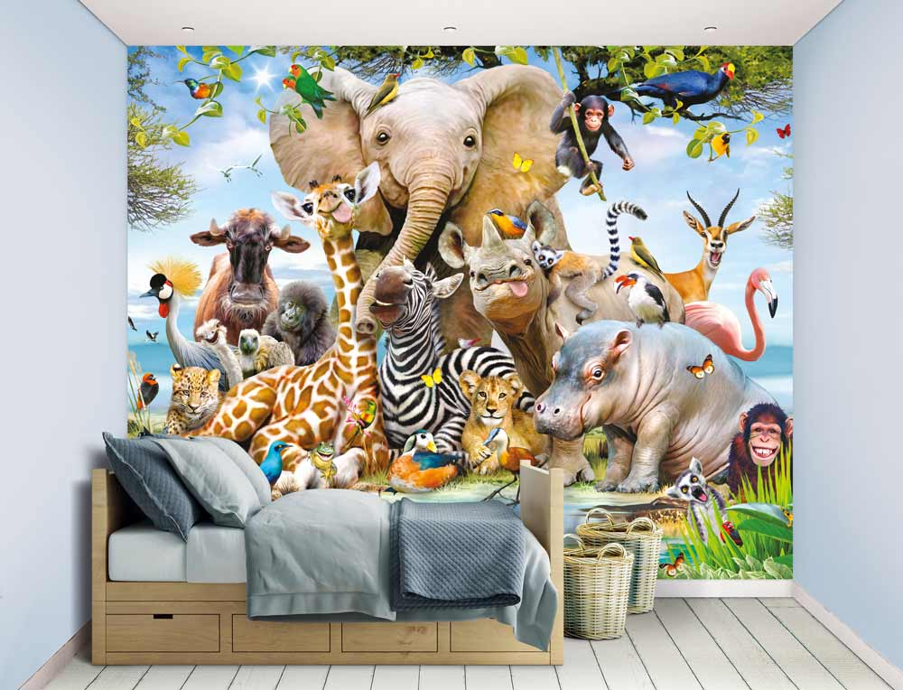 W-Jungle-Safari  Walltastic Jungle Safari