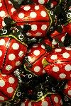 BC10 LARGE FOILED LADYBIRDS