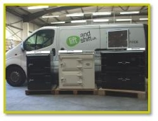 We pickup the everhot cooker direct from the factory and deliver them throughout the uk.