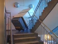 Lift and Shift Man and machine stair climbing service we can lift and move items up to 680 kg up or down stairs