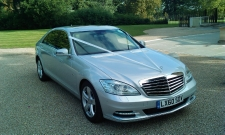 Mercedes S Class, wedding day luxury