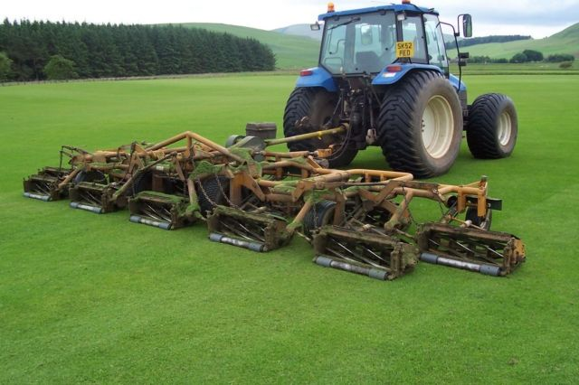 Regular Gangmowing Produces Dense Healthy Sward