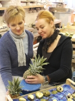 PENKRIDGE CERAMICS NICKY AND LORRAINE IN THE STUDIO