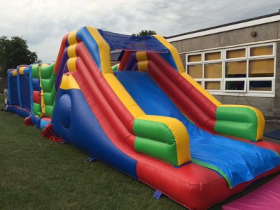 45ft Rainbow Obstacle Course