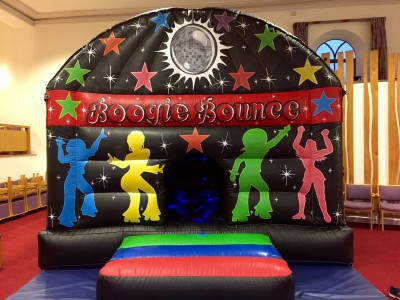 Disco bouncy castle hire Yeovil