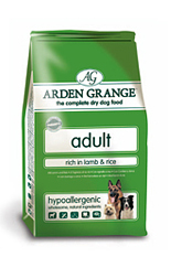 4 Arden Grange Adult Dog Lamb 12Kg