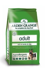 6 Arden Grange Adult Dog Lamb 2Kg