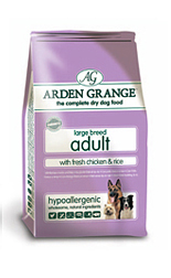 7 Arden Grange Adult Large Breed Dog With Fresh Chicken & Rice 12Kg