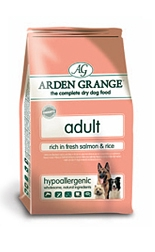 AA2 Arden Grange Adult Dog Rich in Fresh Salmon & Rice 2Kg
