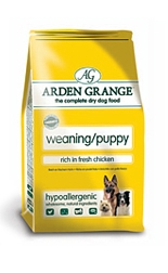 AA9 Arden Grange Weaning/Puppy: Rich in Fresh Chicken 2Kg
