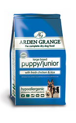AAA4 Arden Grange Puppy/Junior Large Breed: with Fresh Chicken and Rice 12Kg