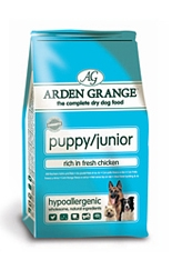 AAA2 Arden Grange Puppy/Junior: Rich in Fresh Chicken 6Kg