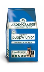 AAA6 Arden Grange Puppy/Junior Large Breed: with Fresh Chicken and Rice 2Kg