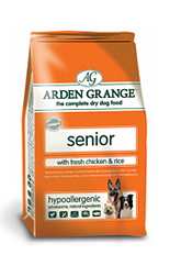 AAA7 Arden Grange Senior: with Fresh Chicken & Rice 12Kg