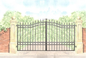 Churchill Gate Design