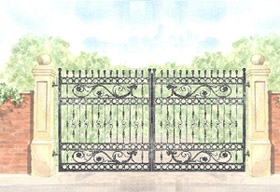 Henley Gate Design