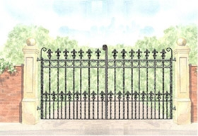 Rockingham Gate Design