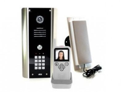 AES Colour Video Intercom System with Keypad