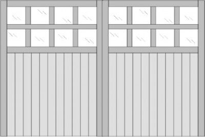 The Norfolk Garage Door Design