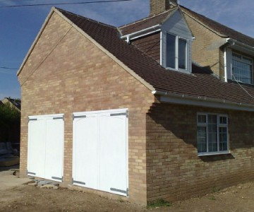 The Sussex Garage Door Design