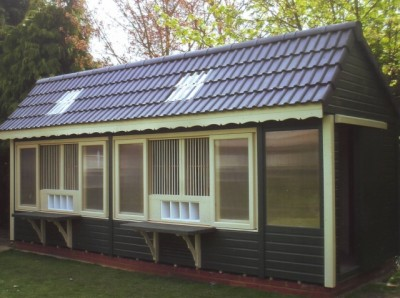 Pigeon Loft 22 X 8 | Pigeon Lofts | Tranter Lofts  Timber Garden