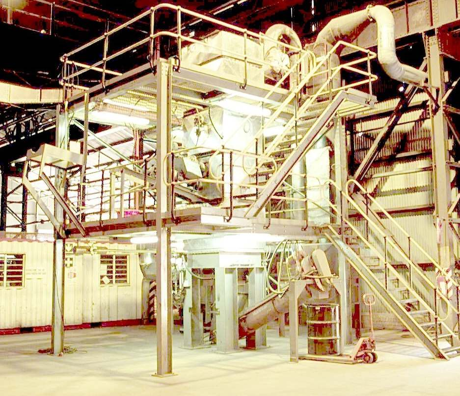 Original Incineration Test Bed