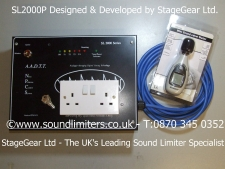 SL2000P Sound Limiter and Sound Level Meter Kit