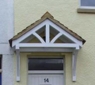 b&q door canopy 2